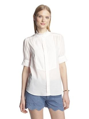 67% OFF MiH Jeans Women's The Gainsbourg Shirt (Palest Pink)