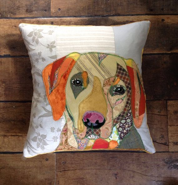 Items similar to Handmade cushions made to order from a photograph of your pet. on Etsy