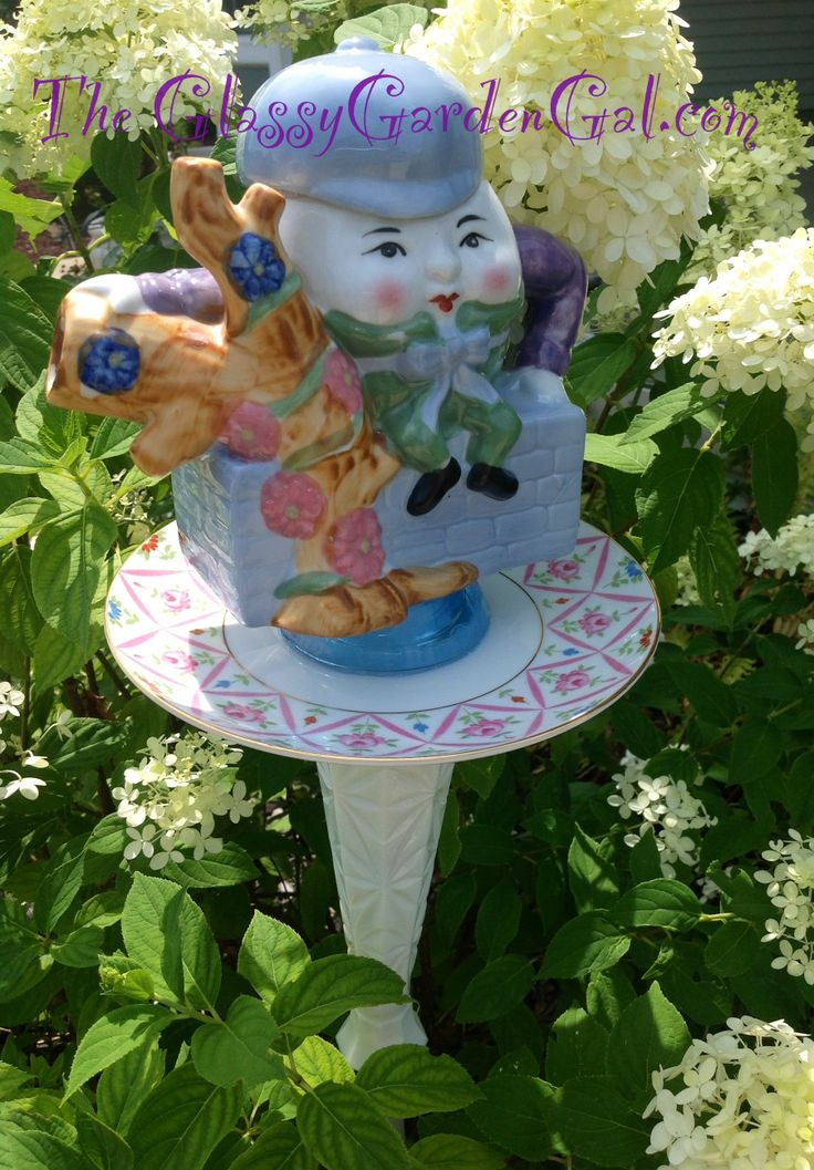20 best images about hunt and gather crown point for Recycled glass garden ornaments
