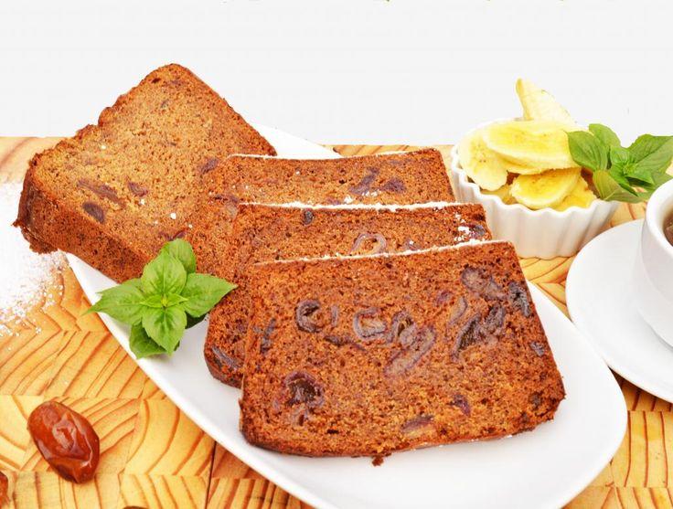 Banana and Date Bread with Tahini and Carob Molasses image 1