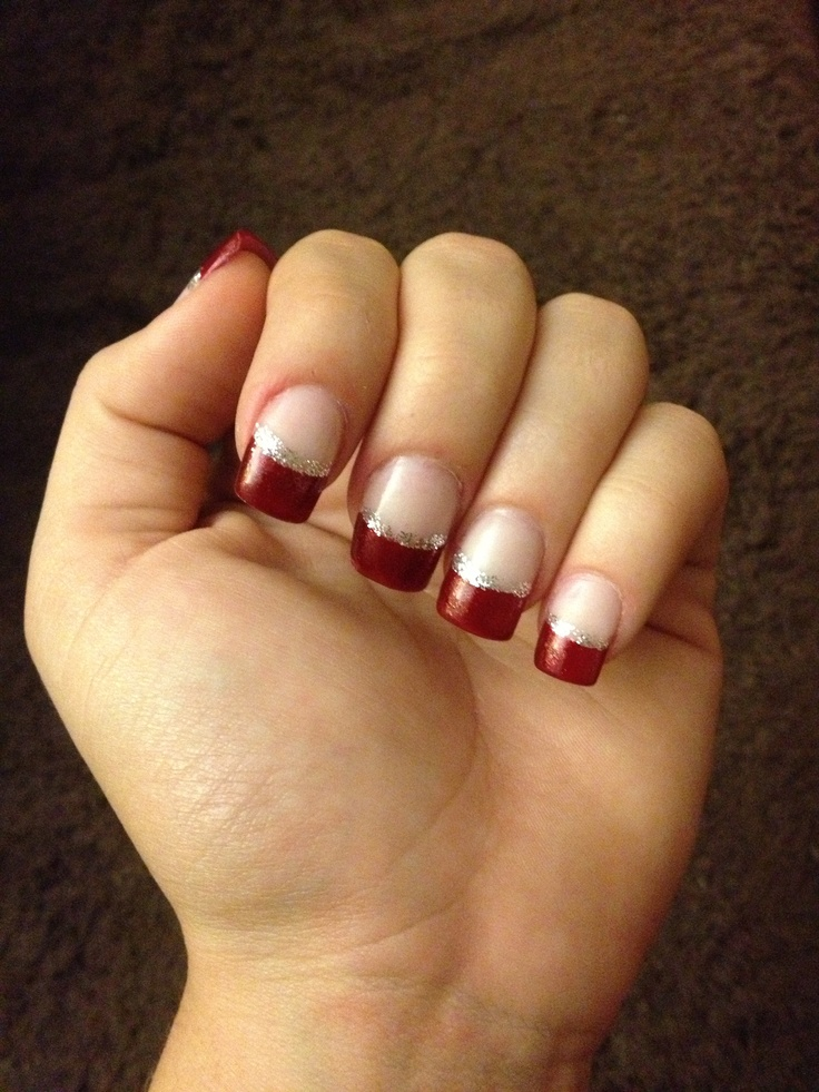 25+ Best Ideas About Christmas Acrylic Nails On Pinterest