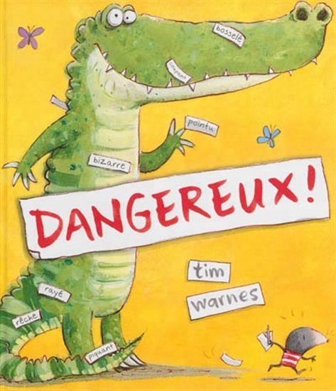ADJECTIFS Tom, la taupe, adore étiqueter les objets. Un jour, il découvre une drôle de chose. Une chose grumeleuse et bosselée avec de grandes babines et des dents acérées, c'est un crocodile. Immédiatement, Tom lui colle une étiquette  Dangereux ! . Mais ce crocodile voudrait juste jouer avec Tom et devenir son ami.