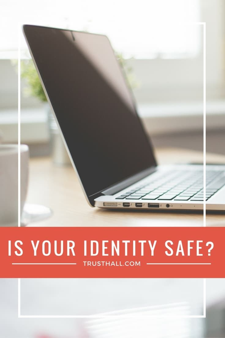 Do you think identity theft won't happen to you? Do you think it only happens to a few? What you see on the news doesn't apply to you right? Wrong.
