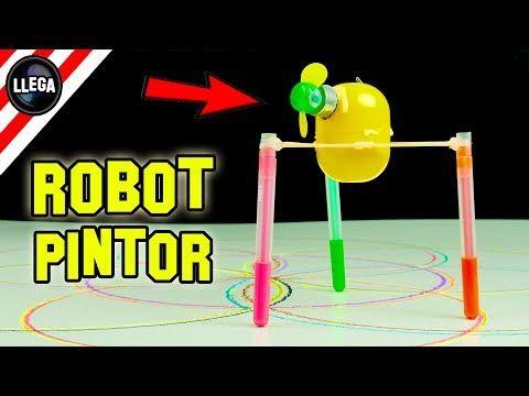 Cómo Hacer Un Robot Que Pinta Solo - Experimentos Caseros by LlegaExperimentos - YouTube