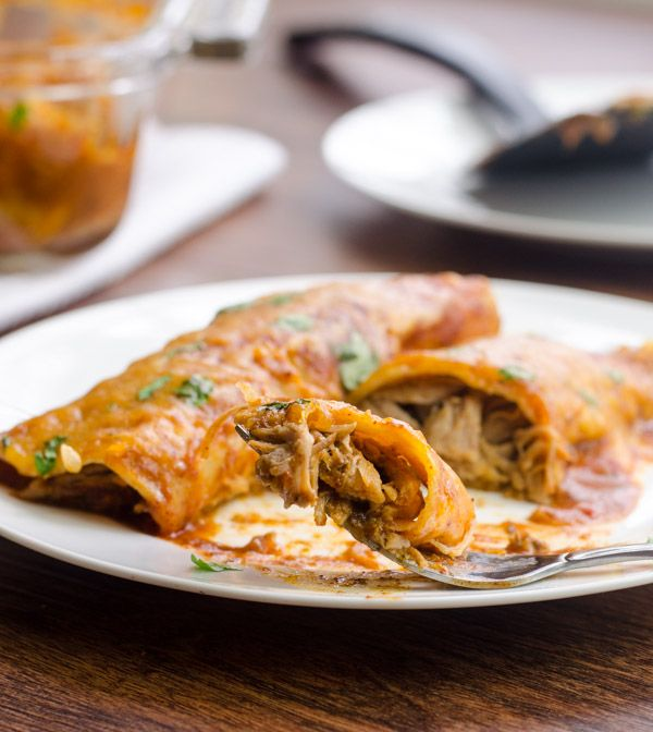 Mojo Pork Enchiladas – Brody Fahle