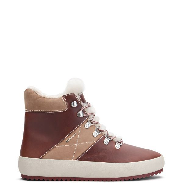 GANT - Amy Boots Mud Brown for women | Offisiell nettside Pris 1'700,-