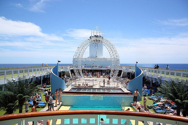 Pacific Jewel Top Deck | Flickr - Photo Sharing!