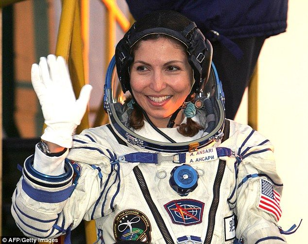 Anousheh Ansari, the world's first woman space tourist: For eight days, the female volunteers in the new experiment will live inside a wood-panelled suite of rooms at Moscow's Institute of Biomedical Problems