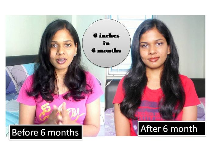 Hair growth challenge | 6 inches in 6 month | Success or not ??????