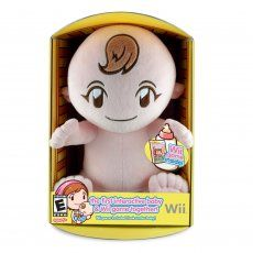 Babysitting Mama Wii - Welcome to Babysitting Mama for the Nintendo Wii, the first game that incorporates a plush baby and the Wii Remote together. You just tuck in the Wii Remote into the back of the plush baby doll and allow Mama to guide you on how to properly care for your new baby. You will find hours of babysitting fun and tons of surprises with Babysitting Mama.