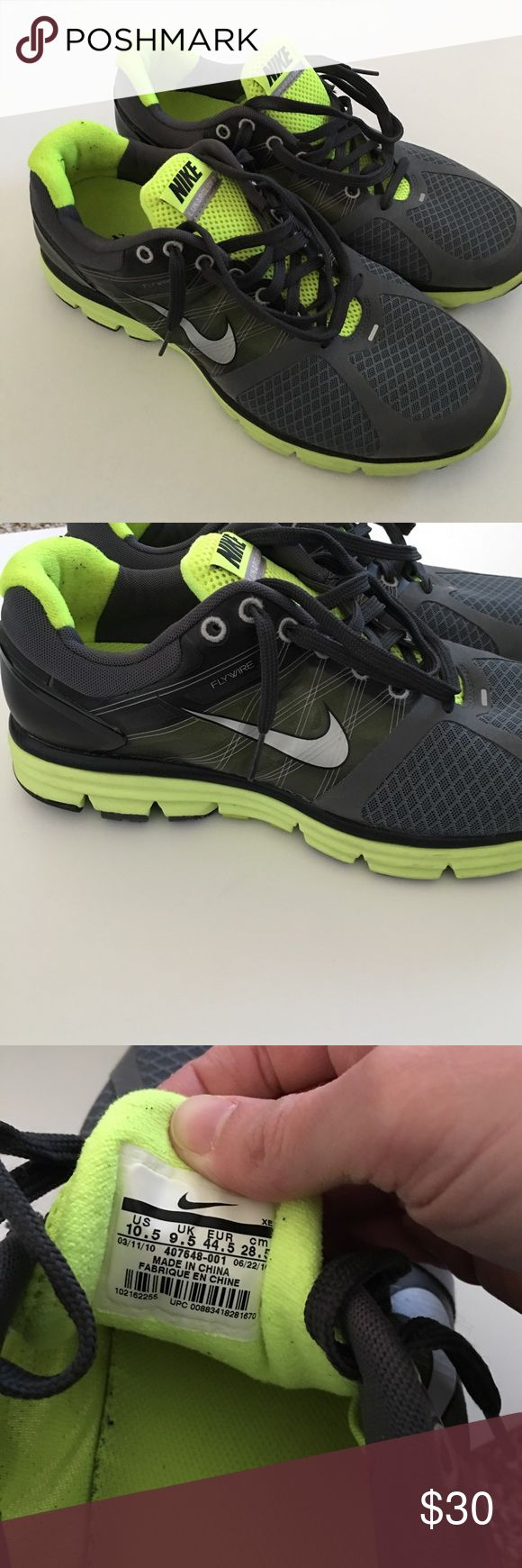 Nike Lunarglide 2 Gently used, good condition! Size 10.5 men's Nike Shoes Athletic Shoes