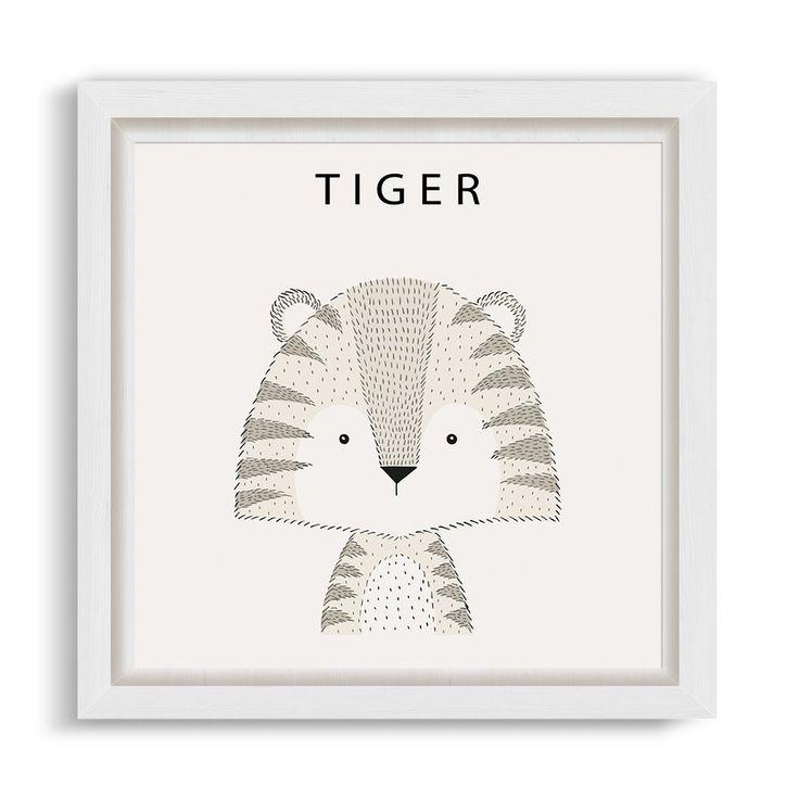 Cuadrito Box Kids - Tiger