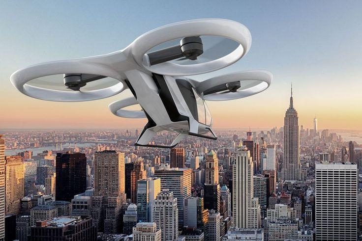 [Vidéo] Le premier vol du démonstrateur de voiture volante CityAirbus prévu en 2018