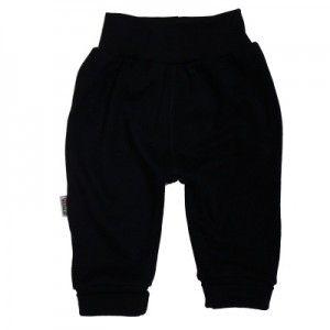 Pantalon noir en 100% coton pour bébé http://simedio.fr/