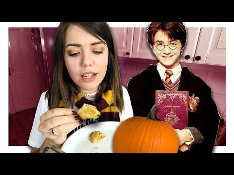 Wie schmecken die Kürbispasteten aus Harry Potter? - YouTube