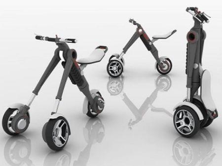 Un véhicule personnel pliable et facile à transporter