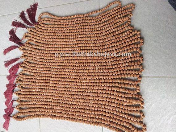 Rudraksha Malas 5 mm sized beads 20 malas PRICE :20 Mala $67.89 Only.  by RudrakshaJava on Etsy