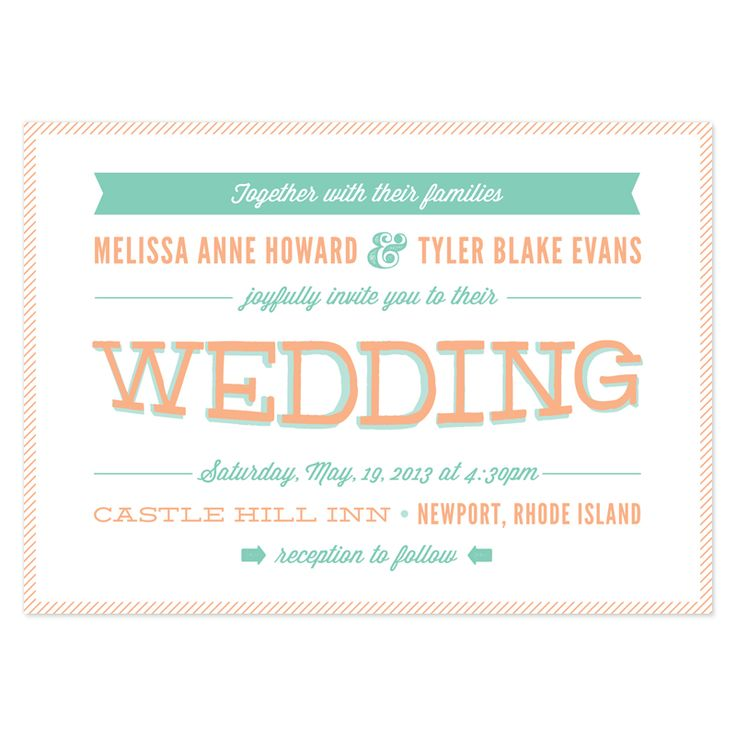 Best 25 Modern wedding invitation wording ideas on Pinterest