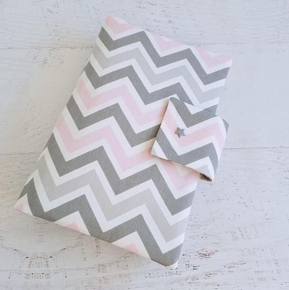 Chevron Diaper Bag Girls Baby Girl Diaper Bag Pink and