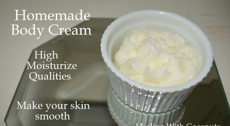 Have you ever tried making a body cream at home? Maybe you think it's too much work or difficult? Believe me, it's not.