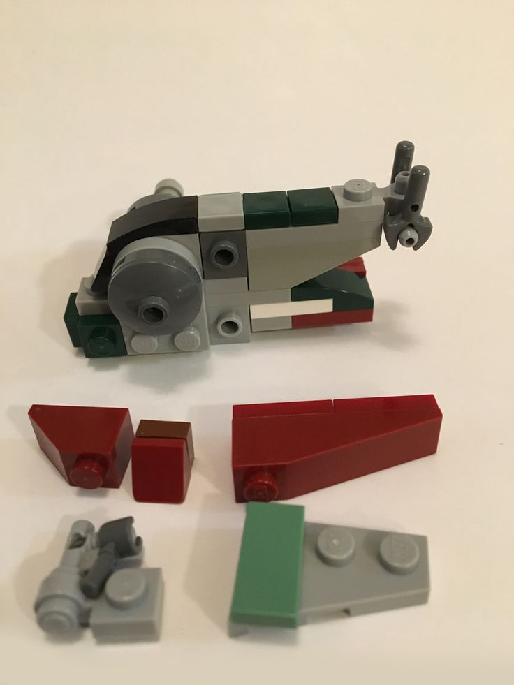 Lego Slave 1 Micro Scale http://www.flickr.com/photos/151803536@N05/33347626212/