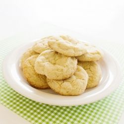 Gluten-Free Coconut Lime Sugar Cookies -- perfect for summer!