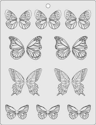 Edible butterflies