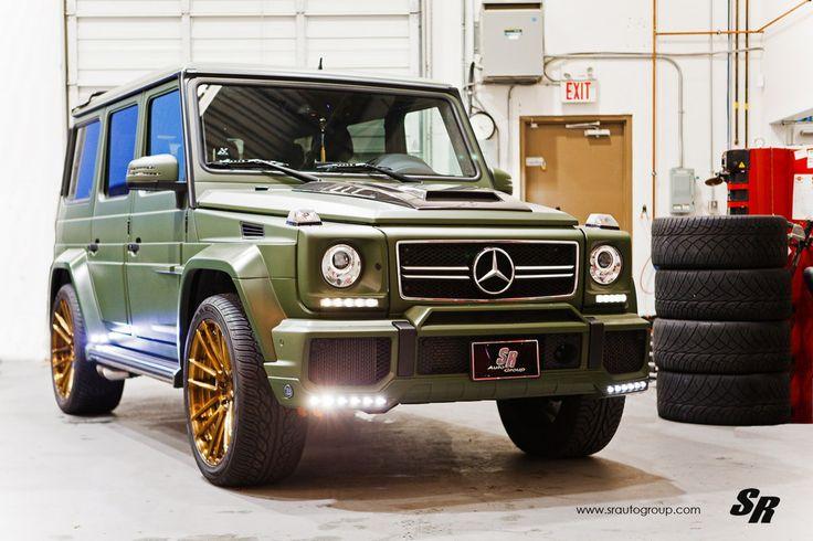 Military Green Brabus G63 0 600x399