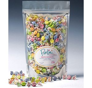 Chipurnoi Fruit Puntini Candy: 300-Piece Bag