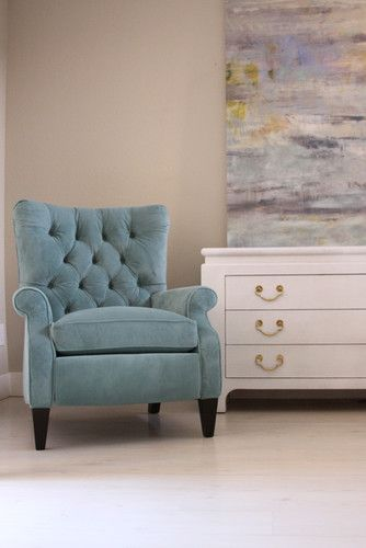 Tufted Recliner  Sophia Tufted Recliner looks sophisticated enough for a formal room but is comfortable enough to... more»  Tufted Home