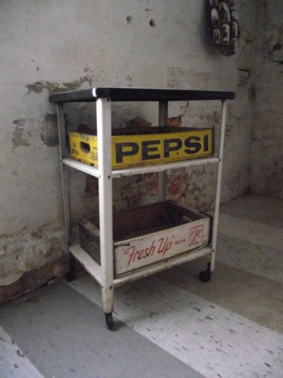 17 best images about repurposing soda pop crates on for Vintage crates cheap