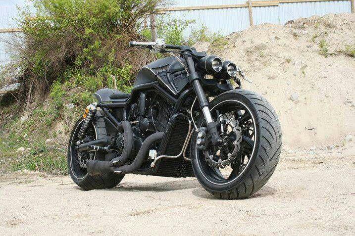 custom harley davidson v rod vrod batman 39 s motorcycle. Black Bedroom Furniture Sets. Home Design Ideas