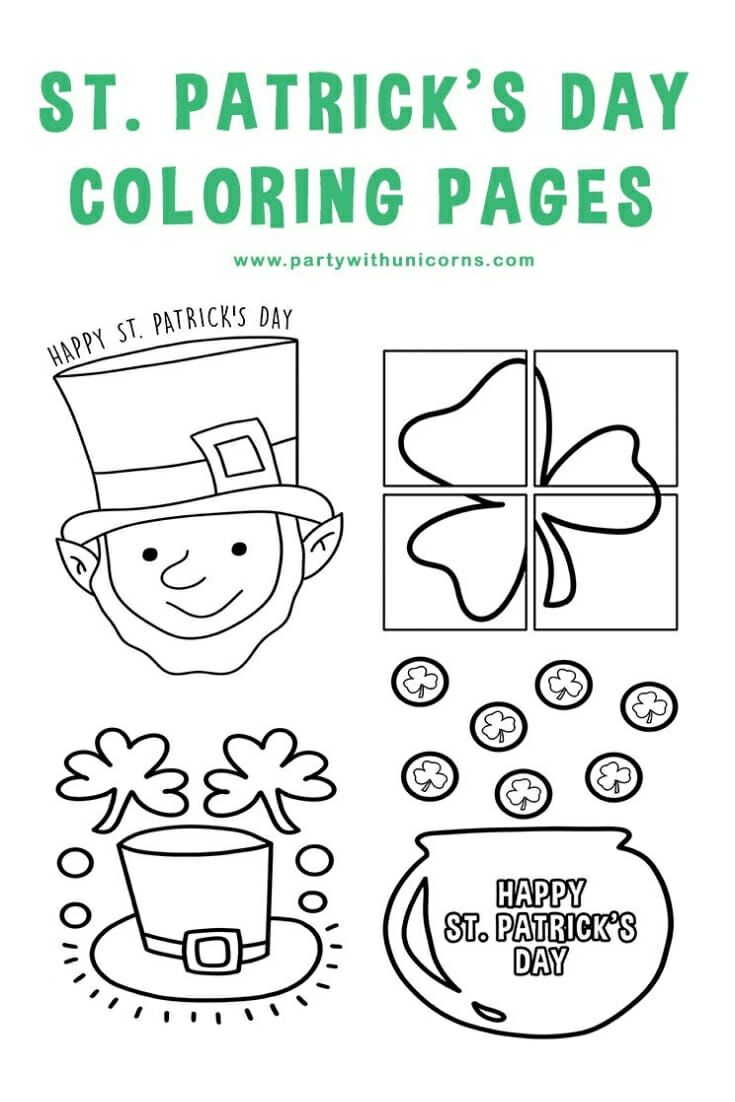 - St Patrick Day Coloring Sheets Free Printable Coloring Pages