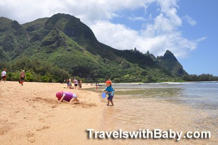 Kauai's kid-friendliest beaches on the north shore? Follow this link to get you to all 3