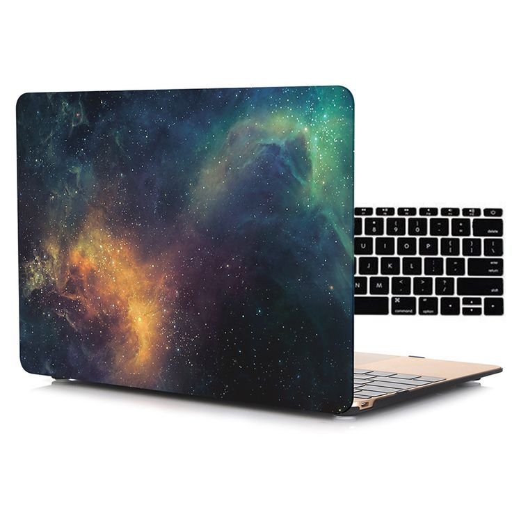 Galaxy Texture Matte Frosted Shell Case for Macbook Air Pro Retina 11 12 13 15 inch Laptop Bag Cases for Mac book Air 13 Case //Price: $14.38     #socialenvy