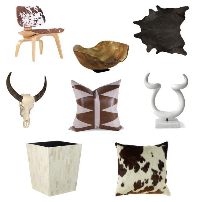 Tendencias de decoración para el 2015: Hueso y piel
