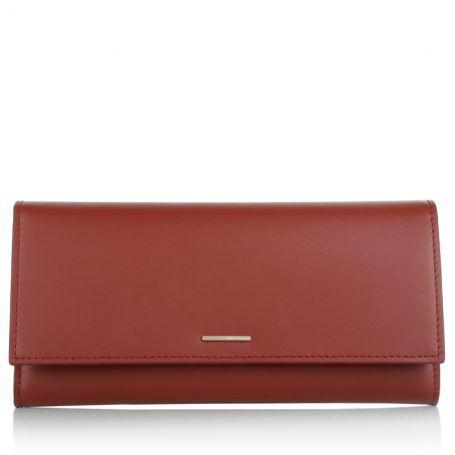 Boss Kleinleder – Staple Continental-C Medium Red – in rot – Kleinleder für Damen
