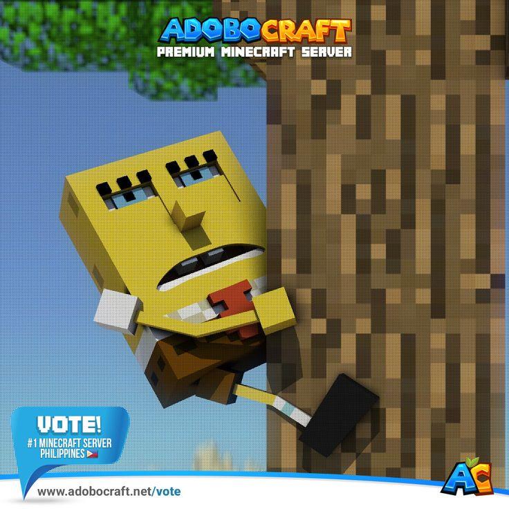 Vote AdoboCraft Number 1 Minecraft Server in the