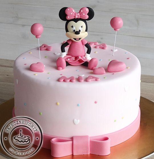Tort Myszka Minnie, torty dla dzieci, torty urodzinowe ...