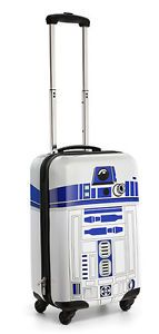 Star Wars R2-D2 Carry-On Luggage #StarWars #Luggage #R2D2 #Movie #Collectible #epic #Cool #Forsale #ebay @ebay