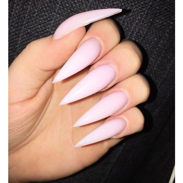 Best 25+ Natural stiletto nails ideas on Pinterest ...
