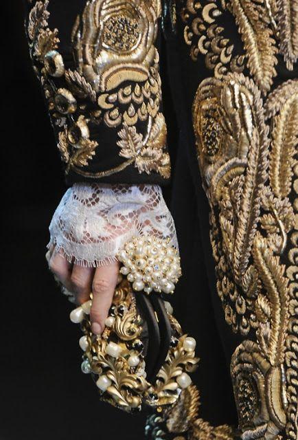 Dolce & Gabbana | Haute Couture #baroque