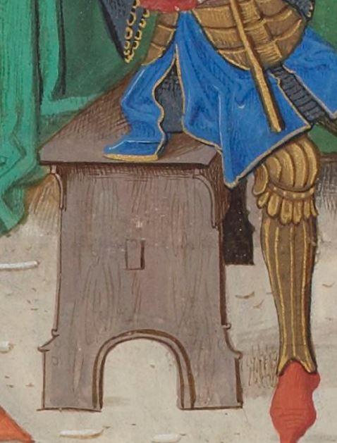 Regnault de Montauban, rédaction en prose. Regnault de Montauban, tome 1er Date d'édition : 1451-1500 Ms-5072 réserve Folio 287v