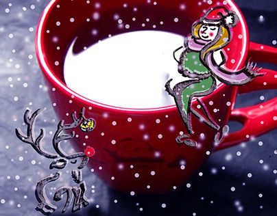 """Check out new work on my @Behance portfolio: """"A christmasy one"""" http://be.net/gallery/61650205/A-christmasy-one"""