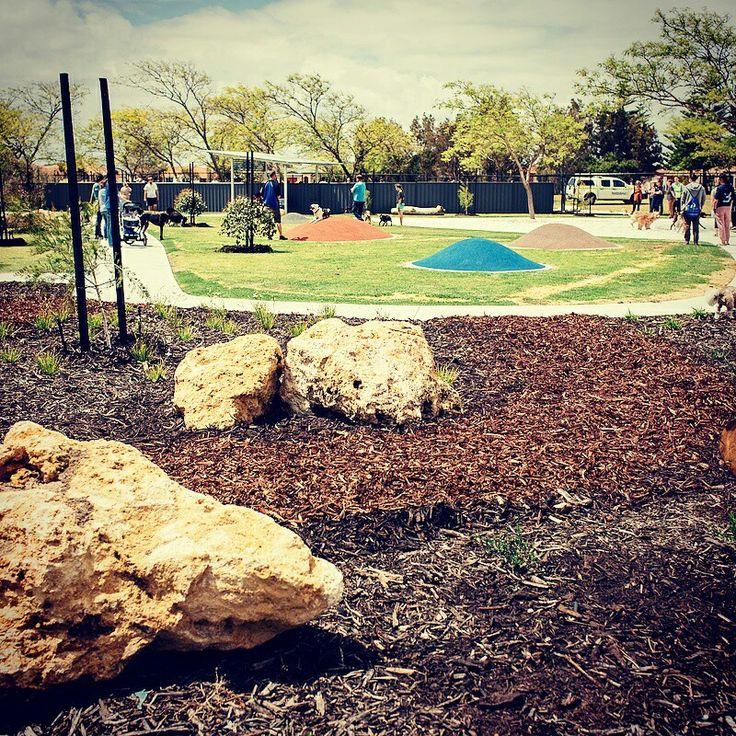 Bayview Dog Park, Rockingham, Western Australia. Design by Balancing Act Adelaide +Aspect Studios, 2016