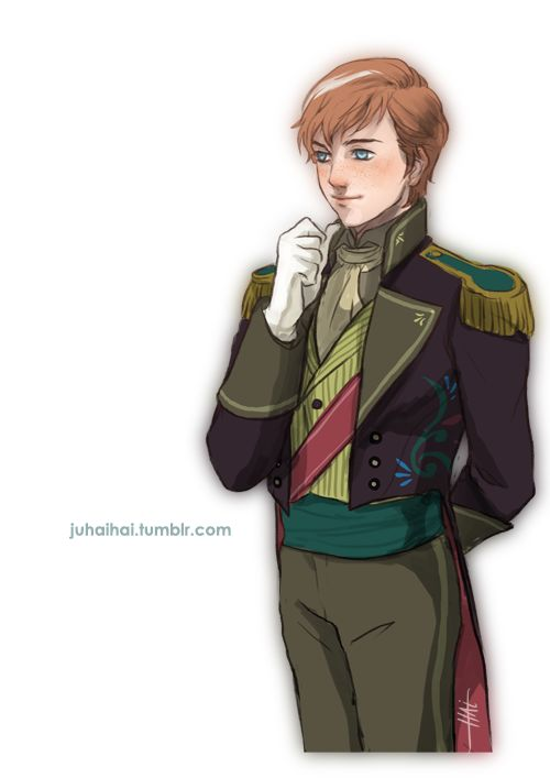 genderbent anna... most of the time I'm only repinning genderbends because I love the outfits that result