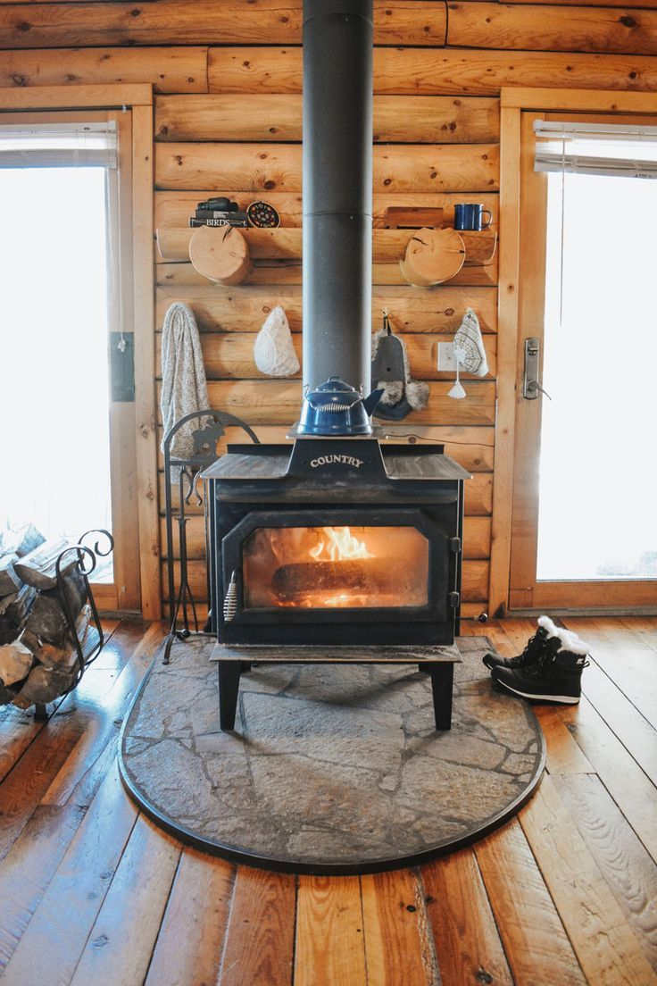 What It's Like to Move From a Big City to a Rural Log Cabin