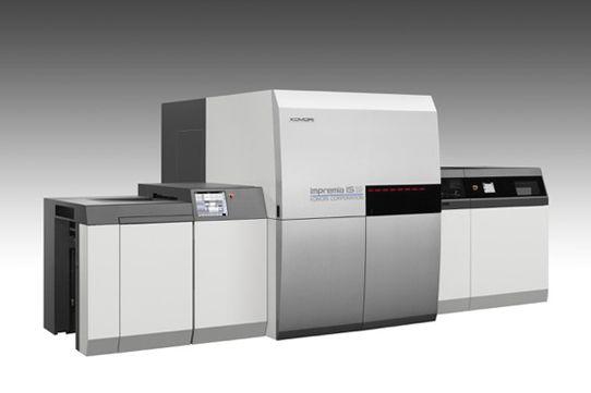 La presse numérique IS29 de Komori, le pendant de l'offset H-UV