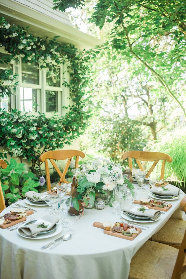 Natural Backyard Wedding Inspiration by Emma Natter and Lauren J Photography