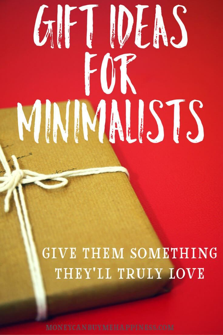 Do you have frugal, minimalist-type friends and family, who make Christmas and gift-giving in general kind of awkward? If so, you'll want to read this post. Minimalists tend to value experiences over things, but the things they keep are things they adore, which make them happy. These gift ideas will make the minimalist in your life smile.